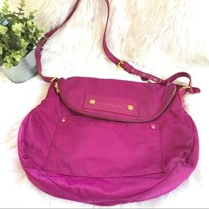 Marc by Marc Jacobs Large Hot Pink Crossbody Purse